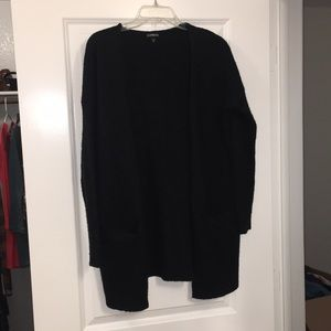 Express black sweater cardigan